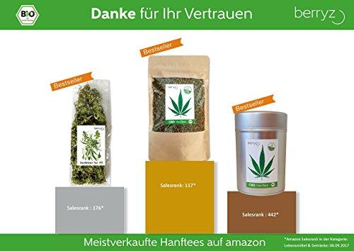 berryz CBD Hanf Tee + Das Original mit 2% CBD - 3