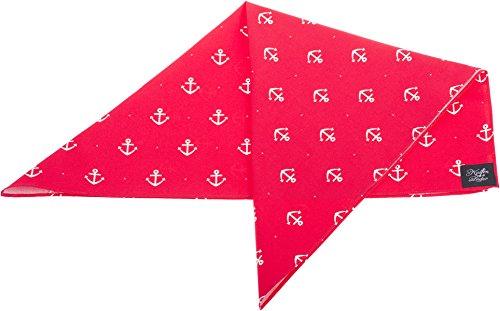 Küstenluder NICOLA Sailor ANCHOR Anker Dots Nickituch BANDANA Rockabilly -
