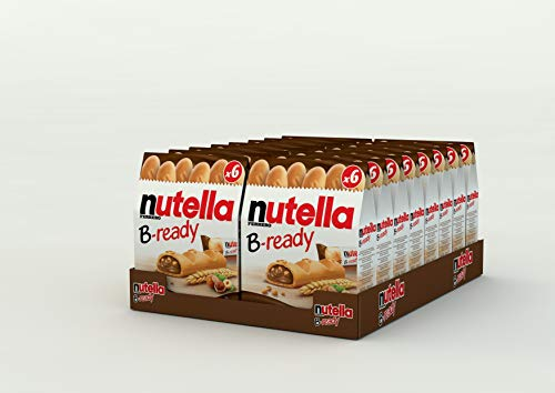 Nutella B-Ready Biscuits, 16-pack (16 x 132g pack)