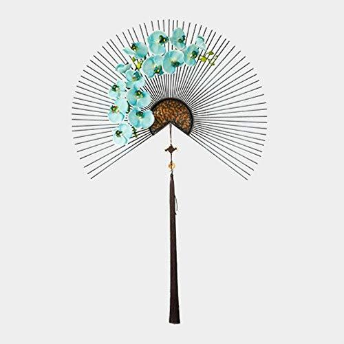 UIXIYIMG Decoración Tradicional de la Pared del Ventilador del Arte Chino del Hierro del Estilo Chino...