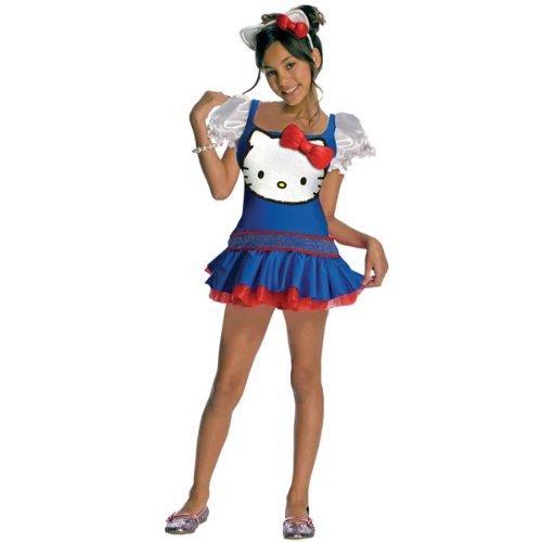 Rubie's costume co-costume di carnevale, motivo: hello kitty, colore: blu