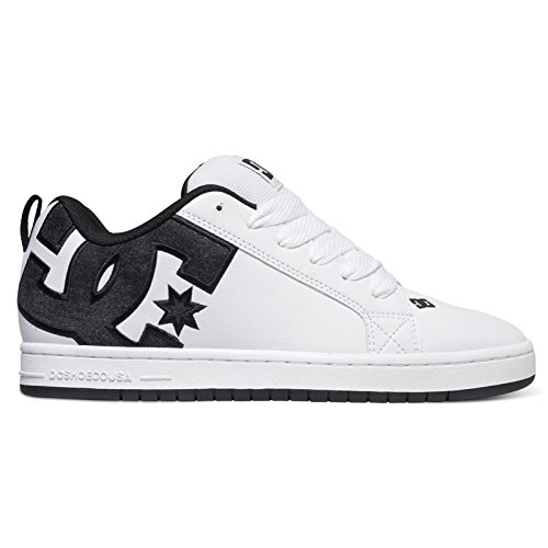dc-mens-court-graffik-s-low-top-sneakers-white-white-smooth-11-uk