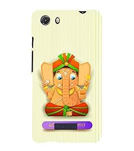 ifasho Designer Phone Back Case Cover Micromax Unite 3 Q372 :: Micromax Q372 Unite 3 ( Taurus Zodiac Sign Luck Birth )