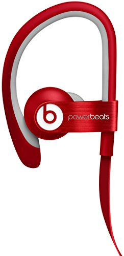 Beats by Dr. Dre Powerbeats by Dr. Dre - Auriculares in-ear, rojo (Reacondicionado Certificado)