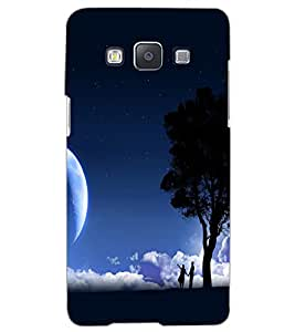 SAMSUNG GALAXY A5 MOON LIGHT Back Cover by PRINTSWAG