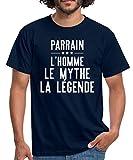 Photo de Parrain l'homme Le Mythe La Légende T-Shirt Homme par Spreadshirt