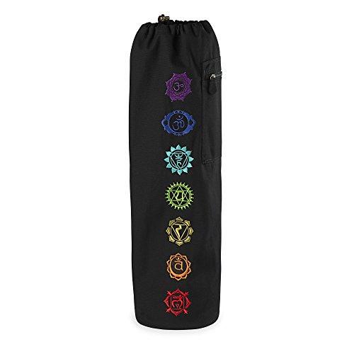 Gaiam Toplader Yogamatte Staubbeutel, Unisex, Chakra, Einheitsgröße