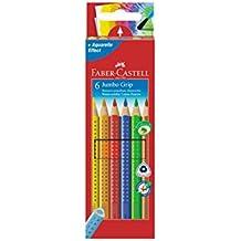 Faber-Castell Jumbo-Grip - Lápices de colores