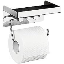 toilettenpapierhalter mit feuchtt cher. Black Bedroom Furniture Sets. Home Design Ideas