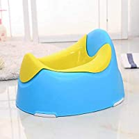 St@llion Potty Training Toilet Seat for Kids and Toddlers for Baby Potty Chair (Blue and Yellow)