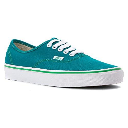 Vans Adulte-Unisexe Chaussures authentiques (Pop Check) Fanfare/Kelly Green