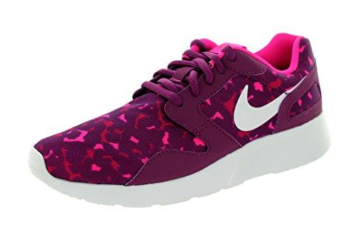 Nike Damen Wmns Kaishi Print Turnschuhe Morado (Mlbrry / White-Sprt Fchs-Pnk Fl)