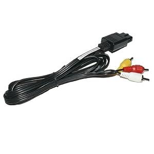 3-Chinch AV TV Videokabel Fernsehkabel f. SNES / Super Nintendo / N64 / Nintendo 64 GameCube – RBrothersTechnologie