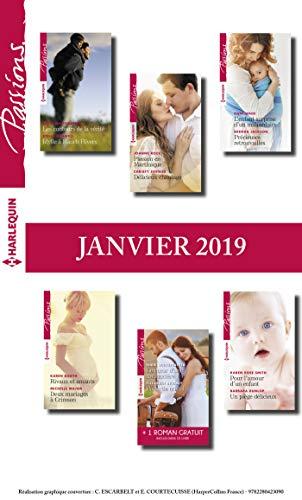 12 romans Passions + 1 gratuit (nº767 à 772 - Janvier 2019) par Collectif