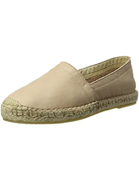 PIECES Damen Pskatie Leather Espadrillos Cameo Rose Espadrilles
