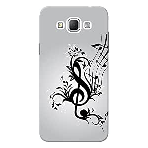 INKIF The Secret Quote Designer Case Printed Mobile Back Cover for Samsung Galaxy Grand 3 (Black)