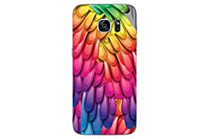 Miicreations Mobile Skin Sticker For Samsung Galaxy S7,Pattern