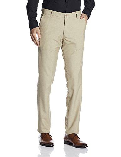 Excalibur Men's Formal Trousers (8907542577309_400016498844_36_Khaki)