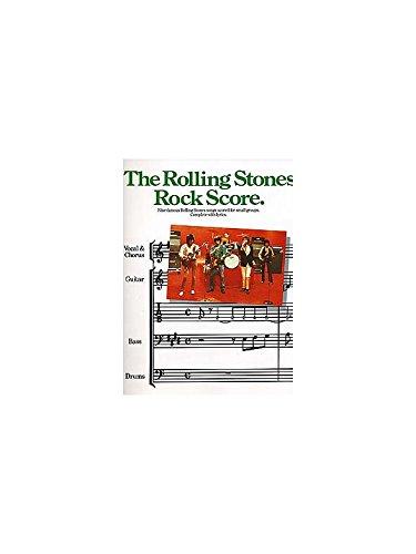 The Rolling Stones: Rock Score. For Basso elettrico(con il cifrato degli accordi), Band score(con il cifrato degli accordi)
