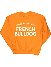 85ad3606adec5 HippoWarehouse Proud Parent of A French Bulldog Jersey Sudadera suéter  Derportiva Unisex