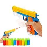 Anray M1911– Pistola de juguete clásica, de colores, con balas blandas noctilucentes, para aprendizaje, segura para niños, para exterior (M1911)