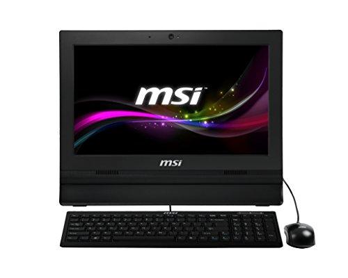 """MSI AP1622ET-028XEU Ordinateur de bureau Tout-en-Un Non tactile 15""""(38,10 cm) Noir (Intel Celeron, 4 Go de RAM, 500 Go, Intel HD Graphics)"""