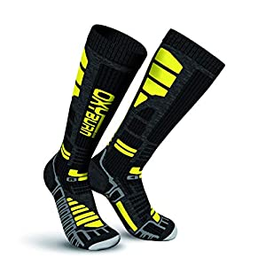 Oxyburn Herren Ski Thermo Knee High Energizer Dry Socken