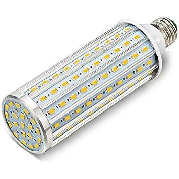 ONLT Bombillas LED, E27 60W 5850LM(Equivalente a 550W),LED Bombilla Super Brillante,para la Iluminación de Almacén, Camino, Restaurante, Hotel, Studio, ...