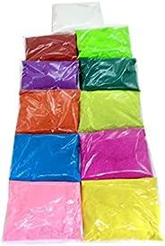 بودرة ساند رانغولي للإبداع وديكور أرضي الديوالي من أرضي نافولي بألوان نافراتري بوجا بوجا بونجال ديوالي رانغولي