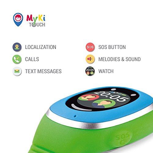 MyKi GPS Uhr Kinder, Smartwatch mit GPS Tracker, Handy Ortung, SOS und App Tracking in Deutsch (Blau) - 5