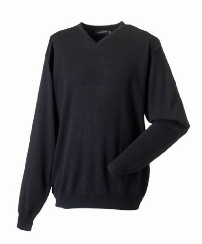 Russell Collection - Pull -  Homme Noir