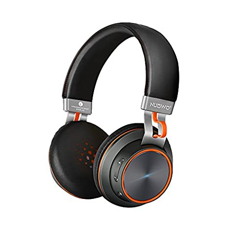 NUBWO S2 V4.1 Bluetooth kabellose On-Ear HiFi Stereo Kopfhörer mit Mikrofon für Handys, Tablets, Laptops & PC –