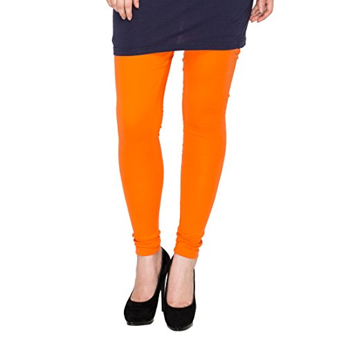 Rann Women's Cotton Legging (LegLycIntOrange_Orange_XXXXX-Large)
