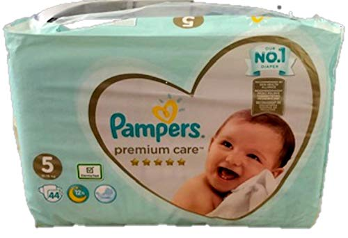 Pampers Premium Care Windeln, Gr. 5 , 11 - 18 kg , 1er Pack (1 x 44 Stück)