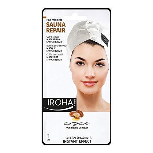 Iroha Nature Sauna Repair Argan Cap Instant Effect Mascarilla - 50 gr