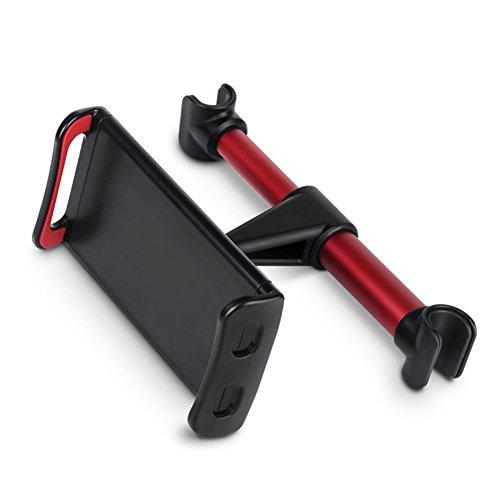 zreal Soporte Reposacabezas Universal para Silla Coche Giratorio a 360° para tablet para Smartphones