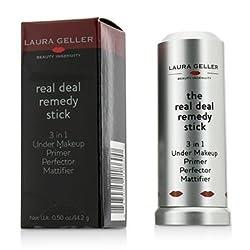 Laura Geller Real Deal Remedy Stick (3 in 1 Under Makeup Primer)- 14.2g/0.5oz