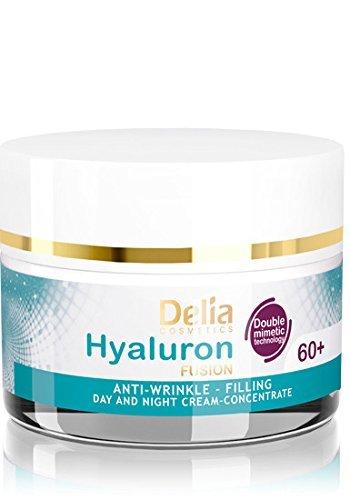 Delia Fusion Hyaluronique Concentré de 60 + Crème Anti-Rides 50 ml