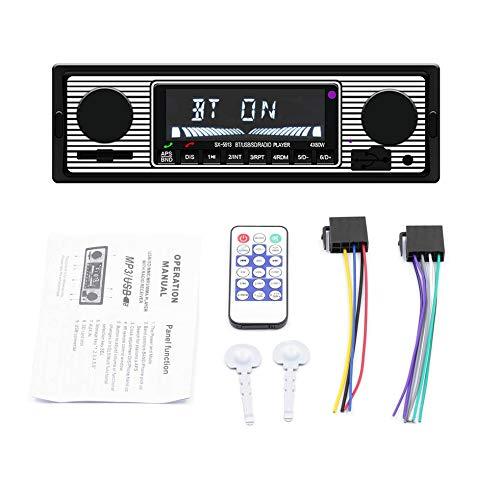 SX-5513 Auto-MP3-Player Stereo-Radio Unterstützung MP3 / WMA/WAV USB2.0 schwarz