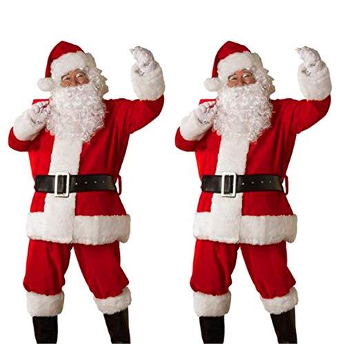 (Riou Weihnachten Set Baby Kleidung Set Pullover Pyjama Set Familie Weihnachts Santa 4pcs Baby Tops + Pants + Hut + Socken Outfit Set Kostüm Kinder (S, Dad))
