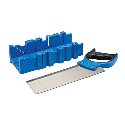Silverline 335464 Mitre Box and Saw 300 x 90 mm Test