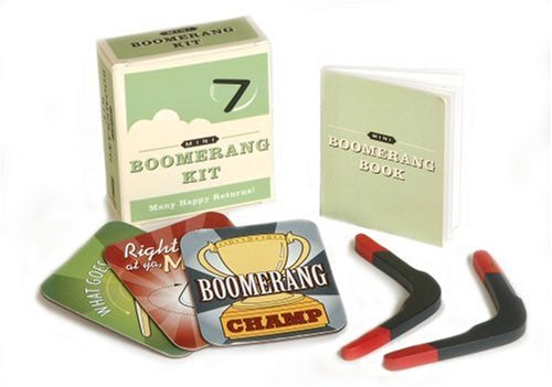 Mini Boomerang Kit: Many Happy Returns! (Running Press Mini Kits)