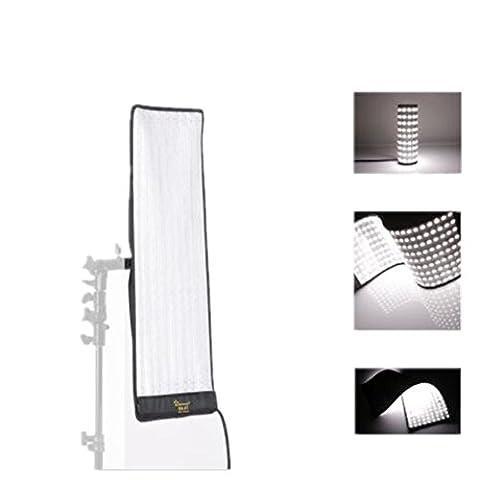Link Star RX-9T 40W Tragbares Roll-Flex LED Mat Foto Licht Einzelfarbe LED Foto Beleuchtung 252pcs Flexible wasserdichte LED-Stärke Foto Studio Licht für Shootings und Microfilming (RX-9T)