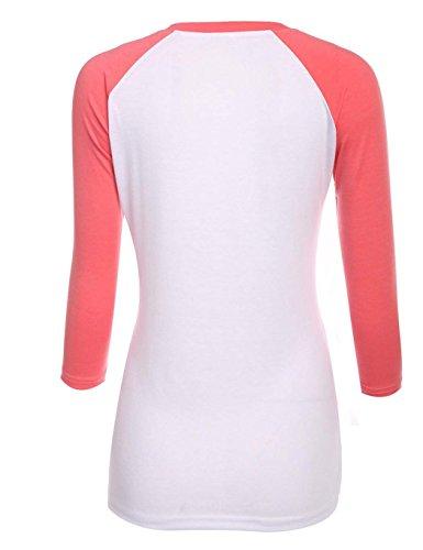 ZEARO Damen Casual Langarmshirt T-shirt Bluse Hemd Shirt Oberteil Top Schwarz