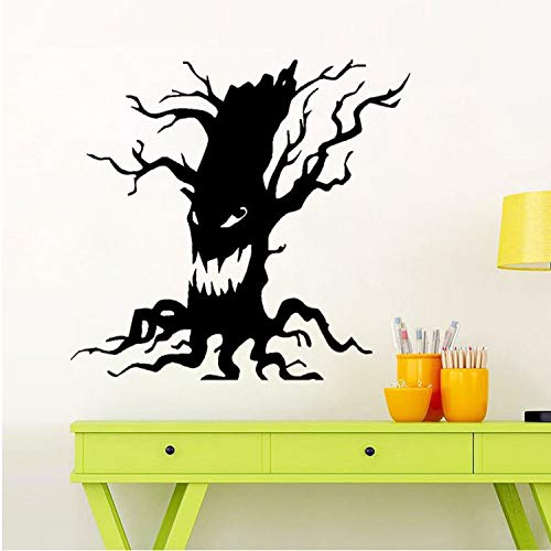 Asade Happy Halloween Scary Tree Wall Sticker Window Home Decoration Decal Decor Wall Window Glass Sticker Home Room Decor Sticker DIY