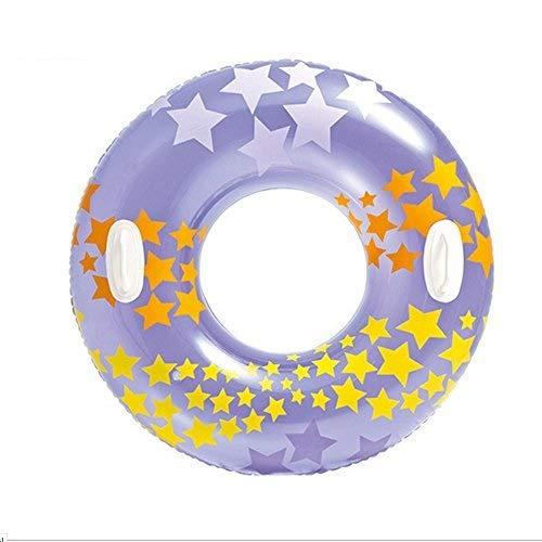 Mode Persönlichkeit Schwimmen Ring-PVC Aufblasbare Schwimm Auspuff Pad Sommer Wasser Unterhaltung Spielzeug Schwimmen Trainer 91 Cm -