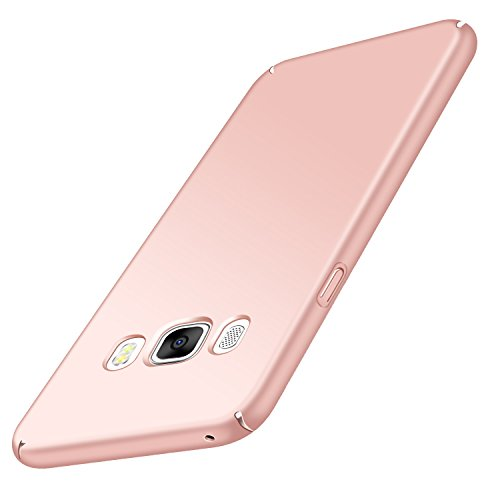 Samsung Galaxy J5 2016 Custodia, Aostar Cover Protettiva Ultra Sottile PC case Thin Fit cover Galaxy J5 2016 bumper Schale Backcover per Samsung Galaxy J5 2016 Gold (Rose Gold)