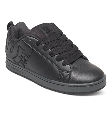 dc-shoes-mens-court-graffik-se-black-leather-trainers-425-eu