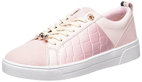 Ted Baker Kulei, Baskets Femme, Blanc Rose (Pink)