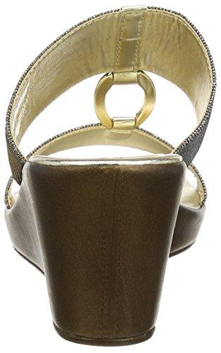 Carvela - Salt Np, Scarpe col tacco Donna Gold (Metal Comb)